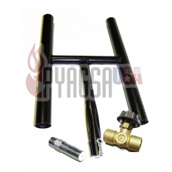 Kit Quemador H 40 cms. / H Burner Kit